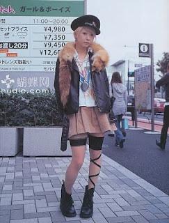 fruits. japanese street fashion.