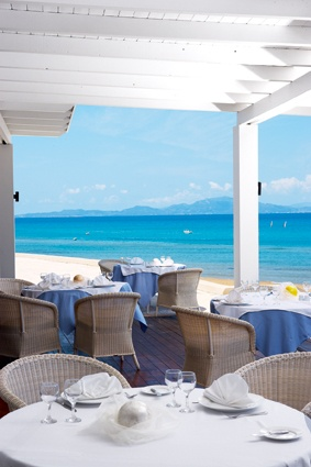 Catch the Ionian breeze at Sea Dunes Restaurant