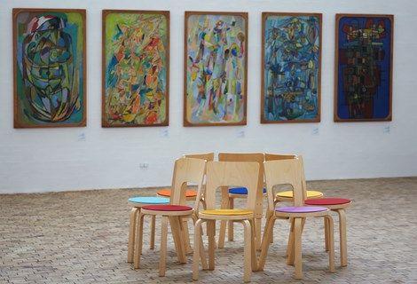 Fraster Felt Decoration - Museum Jorn, Silkeborg