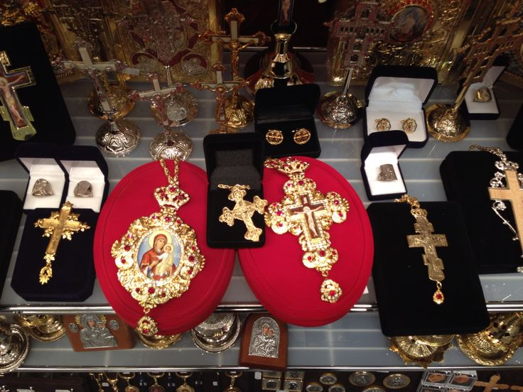 Pectoral Panagia Engolpion And Cross stand in Laiki Techni 2015 stand
