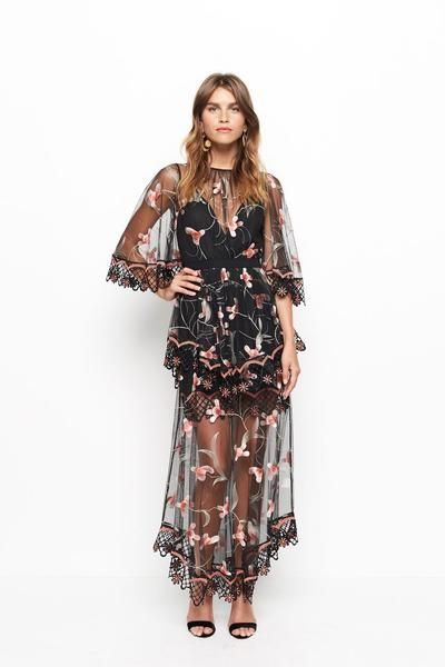 DESIGNER DRESS HIRE AUSTRALIA - Evening event? We've got you covered in the Marigold Dress by Alice McCall & yours to rent for only a fraction of the cost! What's not to love? #dresshire #designerwear