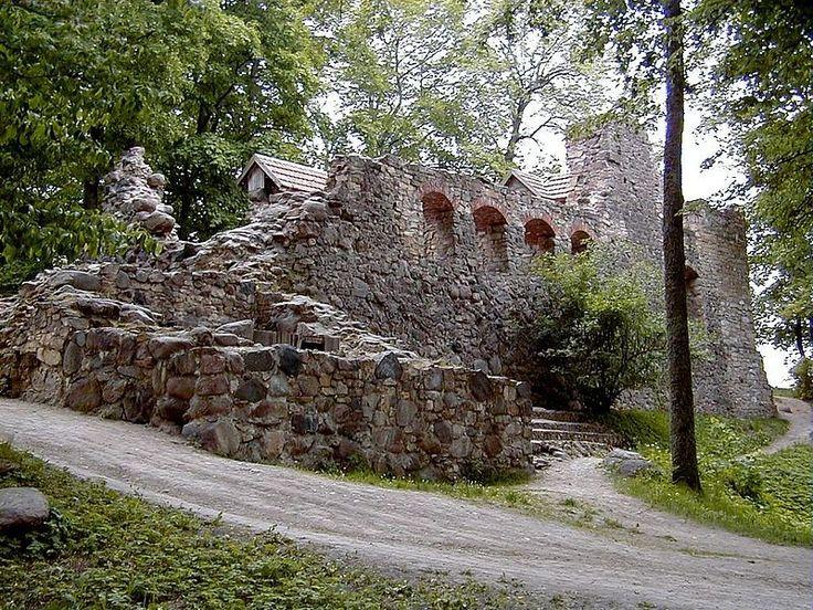 Два колеса, .... и весь мир в СТАКАНЕ. ;)) - Дворцы и замки Латвии. или чем занять себя на выходные.