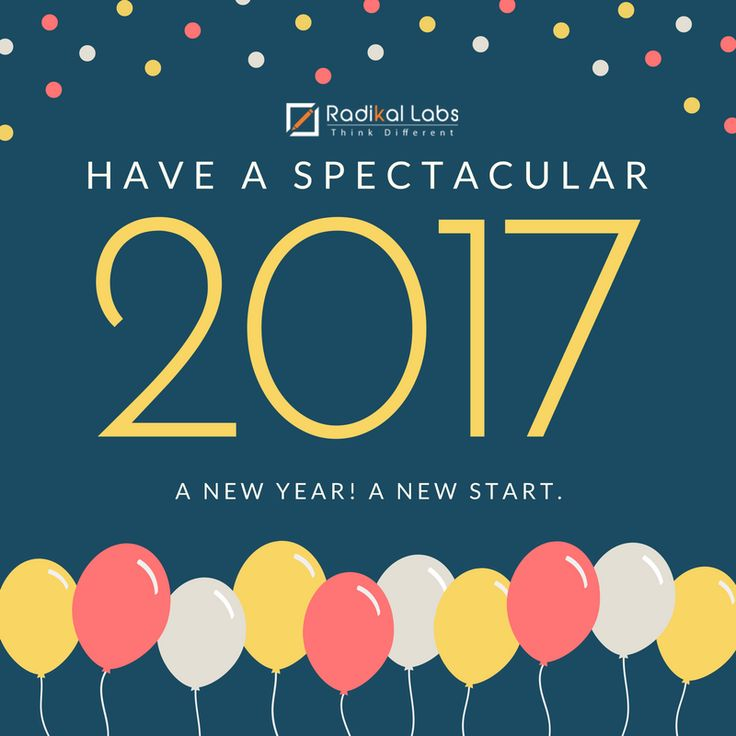 Radikal Labs wishes to all our friends, fans and followers a splendid 2017!