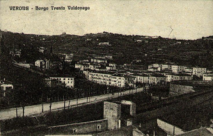Borgo Trento - Valdonega http://www.veronavintage.it/verona-antica/cartoline-storiche-verona/borgo-trento-valdonega