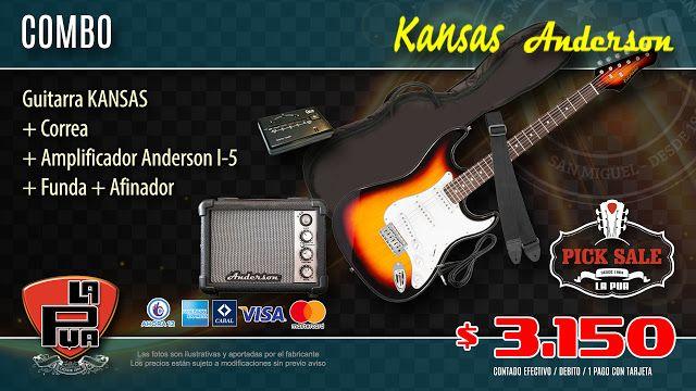 La Púa San Miguel: ¡PICK SALE! COMBO ELÉCTRICA | Guitarra KANSAS + Co...