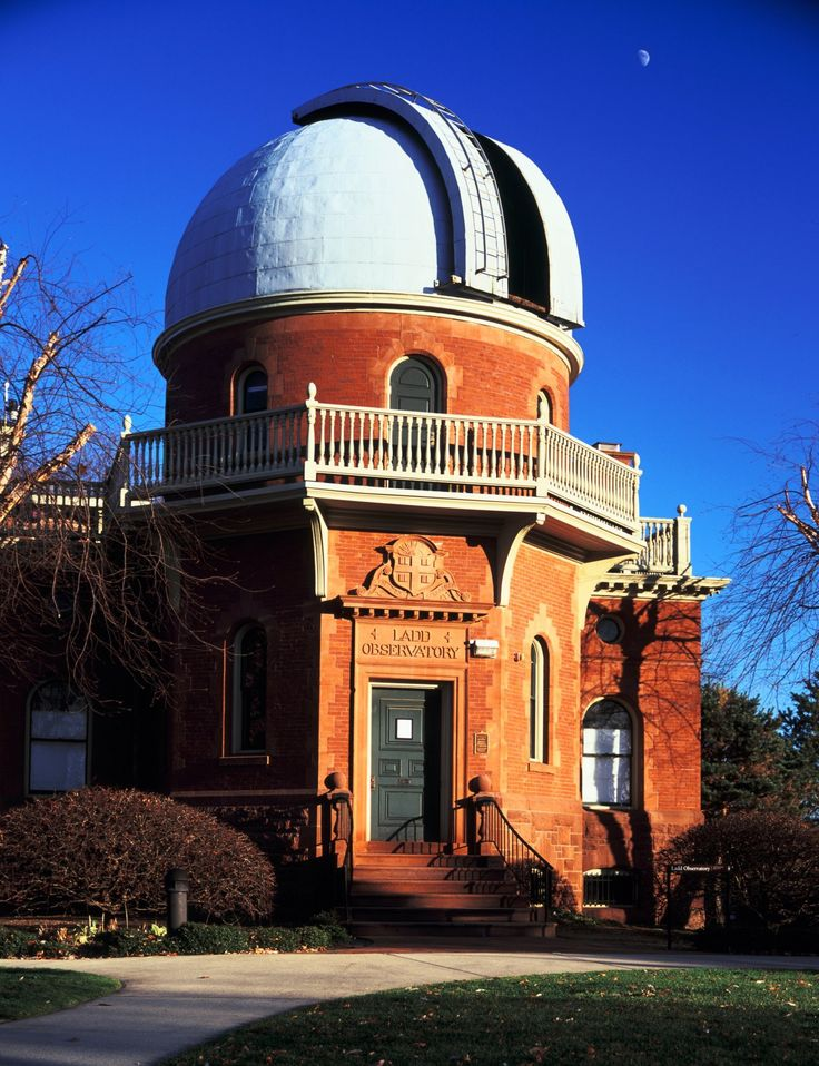 Providence, RI -  Ladd Observatory, located on Brown University's campus, is open to the public every Tuesday night.