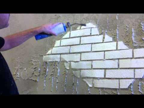 1000 images about faux on pinterest gardens faux stone for Unusual painting techniques