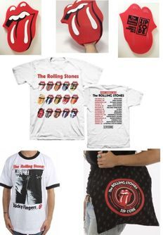 "The Rolling Stones  ""2015 USA Zip Code Tour Merchandise Parcel"""