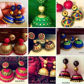 Mix of Terracotta Jhumka