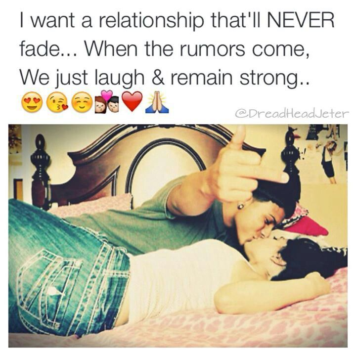 goals for our relationship didnt