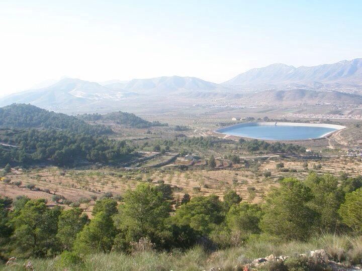 Paisaje Hondon de las Nieves