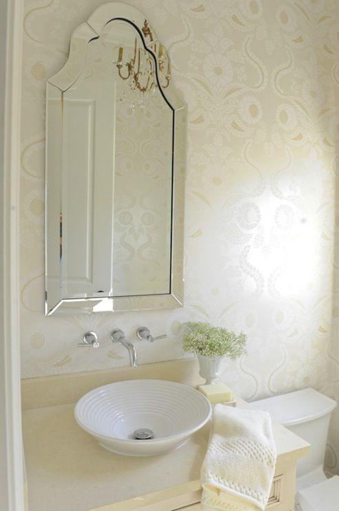 kerrisdale design | Kerrisdale Design - bathrooms - Allen + Roth Hovan Arch Frameless ...