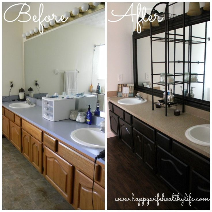 121 best interior before after images on pinterest home ideas bathroom ideas and bathroom for Diy bathroom remodel before and after
