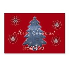 Bright Merry Christmas Custom Postcards (Package o