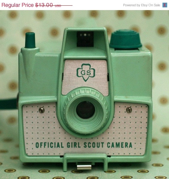 official girl scout camera