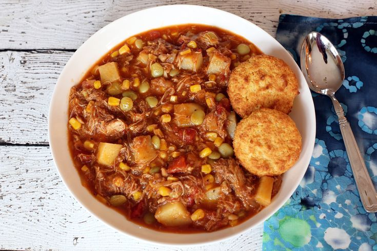 Delicious Brunswick Stew Recipe with Potatoes, Corn, and Lima Beans