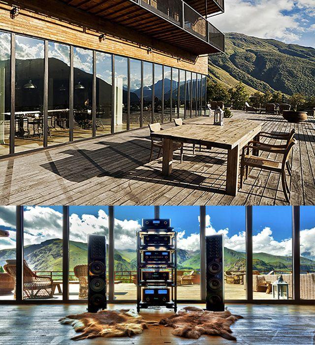 Грузия: дизайнерский отель Rooms в горах Казбеги