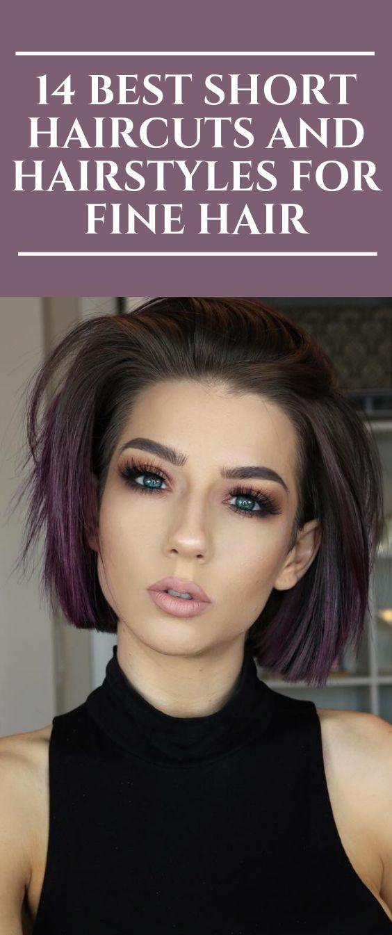 14 Beste Kurzhaarschnitte und Frisuren für feines Haar