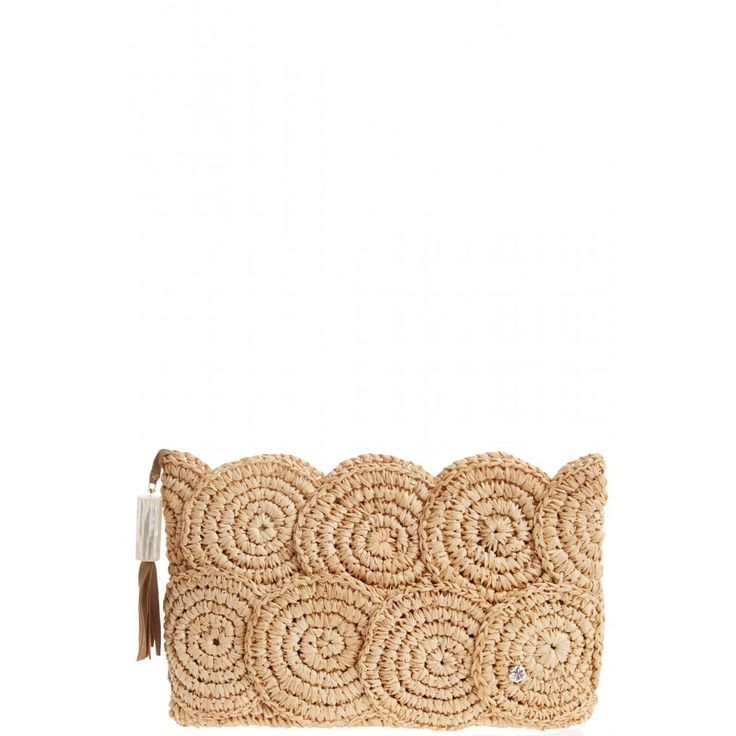Enjoy up to $300 off during our Spring Gift Card Event! Rio Raffia Clutch in Natural