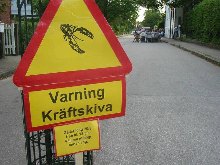 Varning för | VARNING FÖR KRÄFTSKIVA