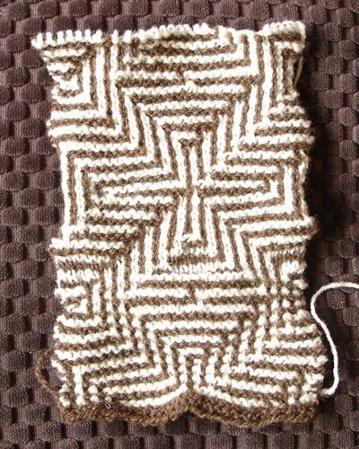 Pattern Knitting Mosaic Charts