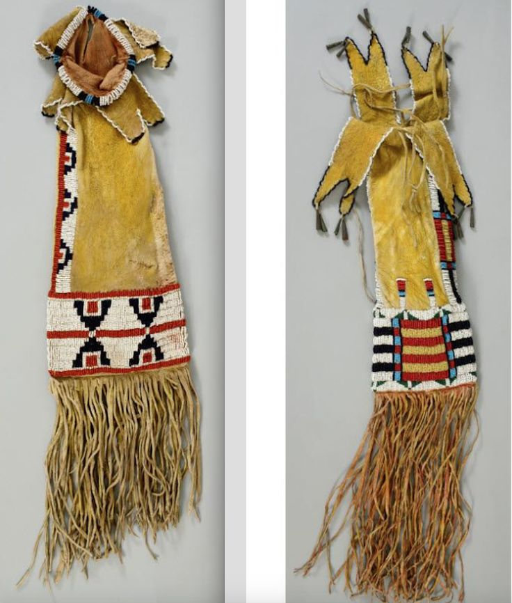 335 best images about beaded pipebags on pinterest for Cheyenne tribe arts and crafts