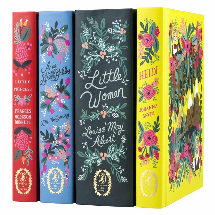 Puffin in Bloom Girls Gift Set: LIttle Women, Anne of Green Gables, Heidi, A Little Princess