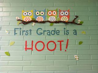 Kindergarten is a Hoot?! Owl Themed Classroom