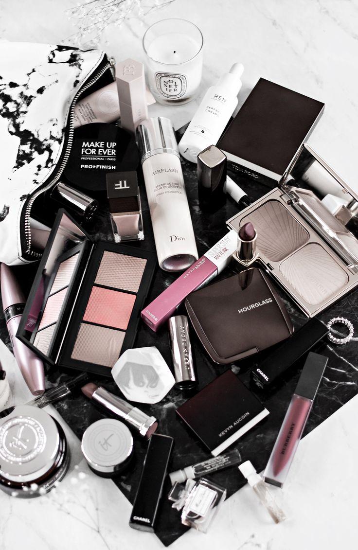 What's In My Makeup Bag December Makyaj look, Makyaj