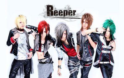 Photo of Reeper. Gotta love the hair color scheme