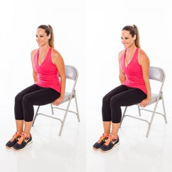 1000 images about broken ankle workout on pinterest for Chair workouts