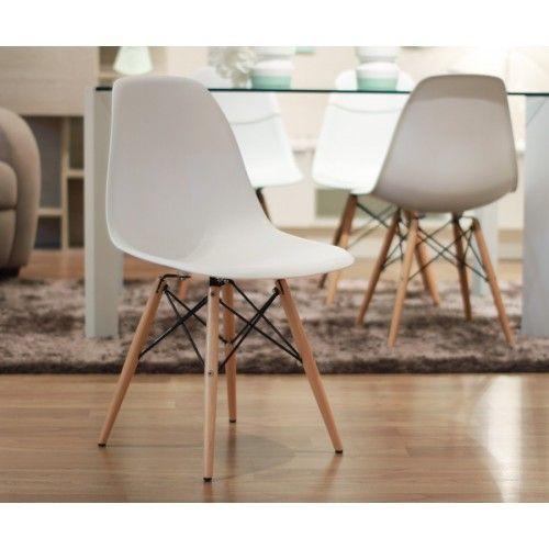 Sweet silla blanca/natural Kenay home, 85€