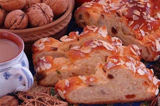 「ヴァーノチカ」(Vánočka)というチェコのクリスマスのパン  #Roboraion #czech #christmas #food #tradition #culture #sweets #japanese #eve