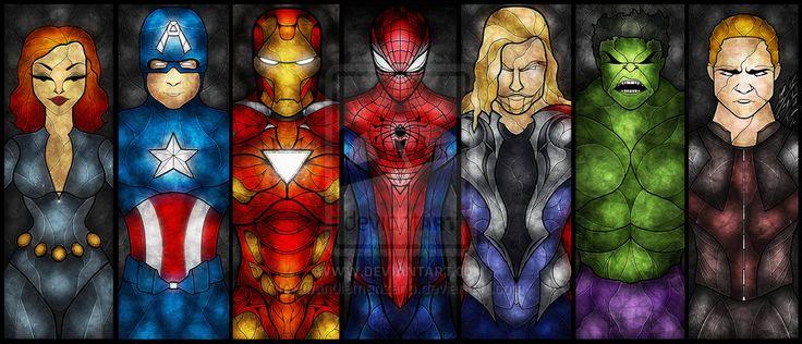 Avengers Series by mandiemanzano.deviantart.com on @deviantART