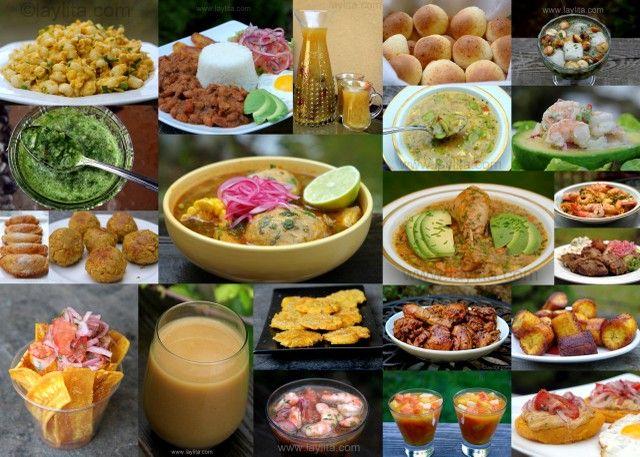 Deliciosas Recetas ecuatorianas