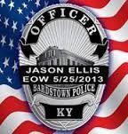 Officer Jason Ellis, Bardstown, Kentucky.