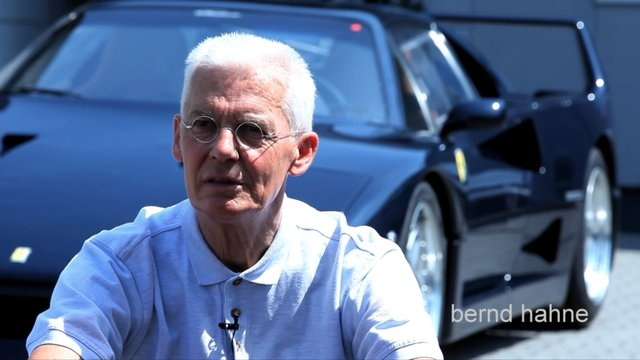 Ferrari F40 Blu Pozzi. Video by Nick Hahne.