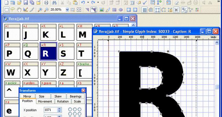 Font creator home edition 5.6