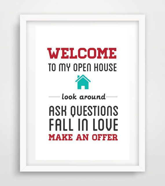 36 Best Real Estate Open House Ideas Images On Pinterest Open