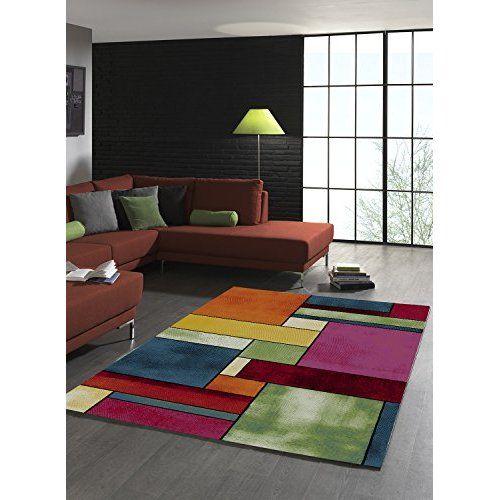 Impression sur toile 120x80 cm - Grand format - XXL - 3 couleurs au choix- 3 pieces - Image sur toile - Images - Photo - Tableau - motif moderne - Décoration - pret a accrocher - carte du monde k-A-0006-b-f 120x80 cm