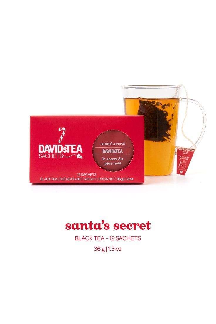 Santa's Secret Tea Sachets