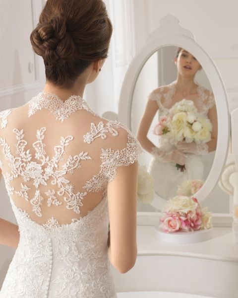 41 best vestidos novia images on Pinterest | Wedding frocks ...