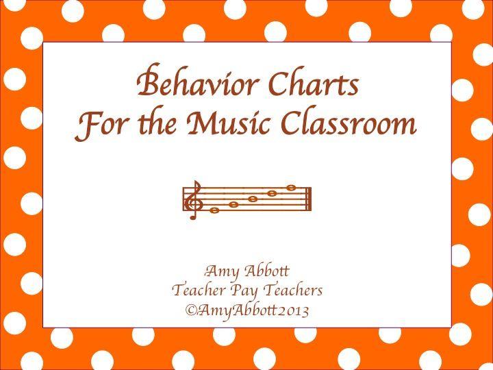 "Music a la Abbott - Amy Abbott - Kodály Inspired Blog and Teachers Music Education Resource: ""Behavior Files"""