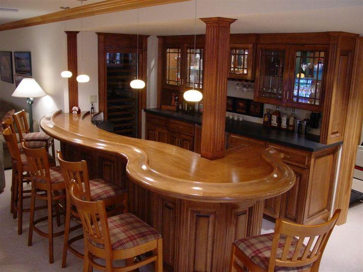 Basement Bar Ideas | Bar Designs On Best Home Bar Designs, Interior Design,  Basement