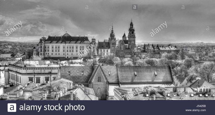 Dieses Stockfoto: Wawel Palace, Krakow, Poland - J5425B aus der Alamy-Bibliothek mit Millionen von Stockfotos, Illustrationen und Vektorgrafiken in hoher Auflösung herunterladen.