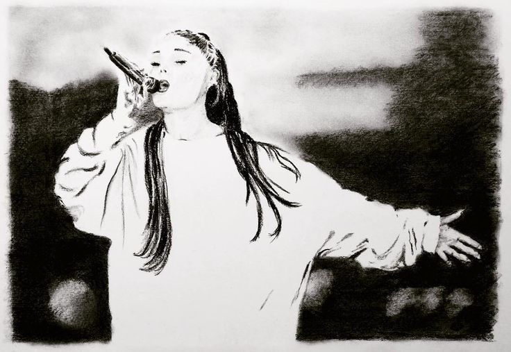 Ariana Grande One Love Manchester portrait for charity  . Ive listed this one off original drawing on an eBay auction with all proceeds going directly to the Red Cross for the Manchester Emergency Fund. . The benefit concert was held in response to the bombing two weeks before. . Ill try to add the link below but if it doesnt work then its item number 302522706871 . . @arianagrande #arianagrande #ariana @manchesteronelove_ #stevekiddart #pencilportraits #pencilportrait