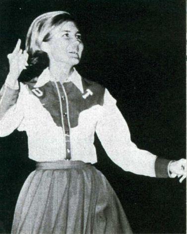 Kay Bailey Hutchison University of Texas Cheerleader.