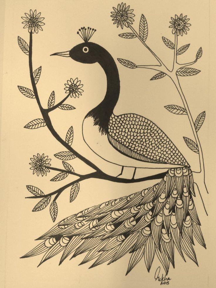 Series Of Birds Pen & Ink drawings