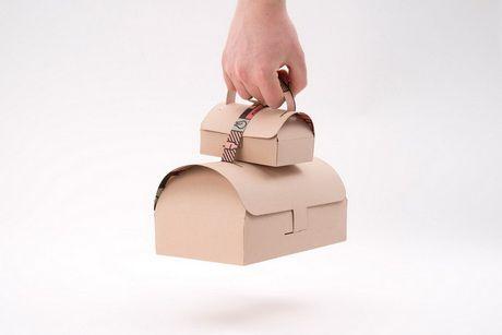 Винтажную упаковку предлагает использовать шведский дизайнер для блюд на вынос