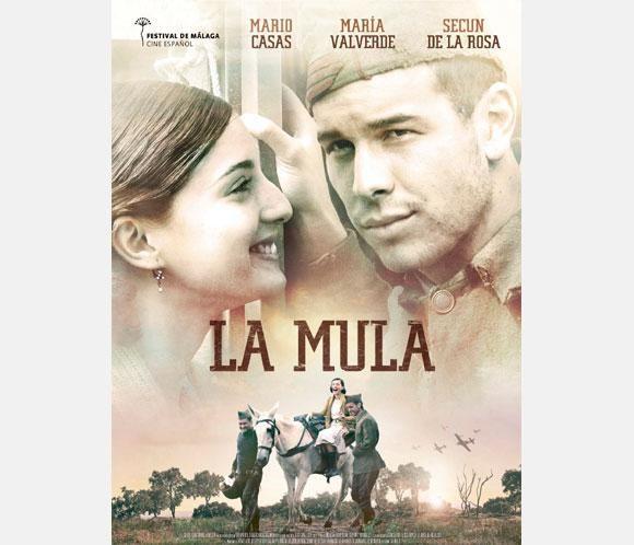 Mario Casas y María Valverde protagonizan el cartel de La mula, la película en la que se enamoraron #actores #actrices #películas #cine